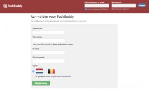 aanmeldpagina fuckbuddy